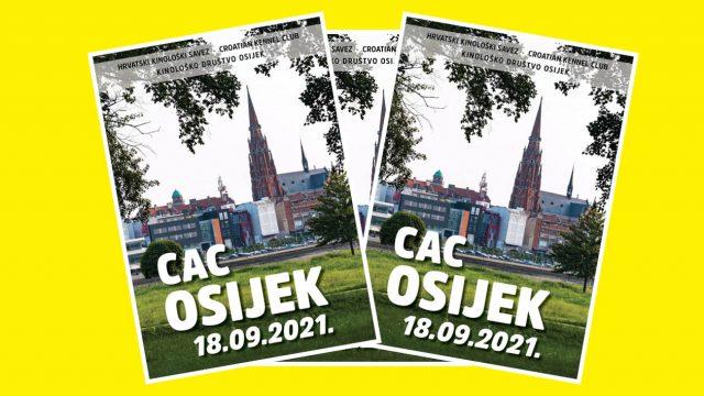CATALOGUE – CAC OSIJEK, 18.09.2021